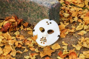 Man with a Scary Mask Searched for Manhattan Shooting
