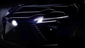 Lexus EV Showing A Concept Early Before their March 30th Reveal